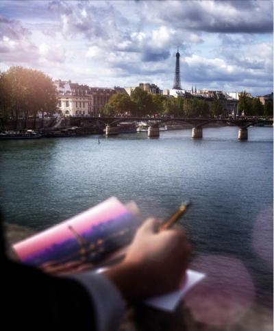 David Drebin Post cards from Paris
