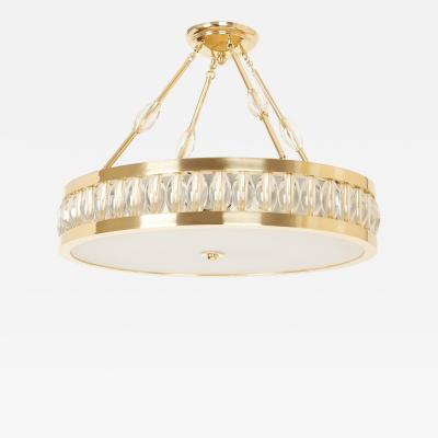 David Duncan Oval Tambour Pendant by David Duncan