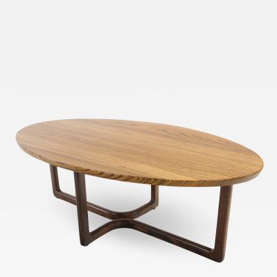 David Ebner Custom Designed American Studio Craft Coffee Table Designed by David Ebner