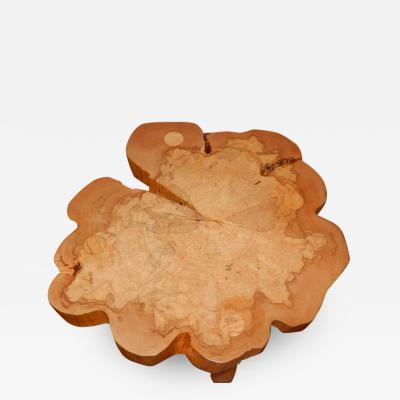 David Ebner David N Ebner Spalted Maple Wood Coffee Table