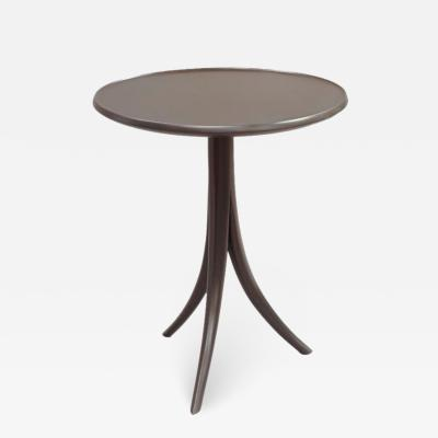 David Ebner David N Ebner Studio Craft Artist Wine Table in Pigmented Walnut