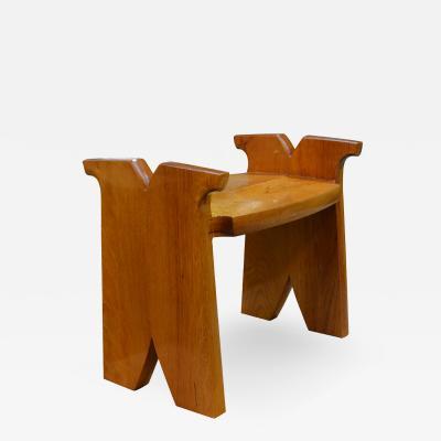 David Ebner Garden Seat by David Ebner