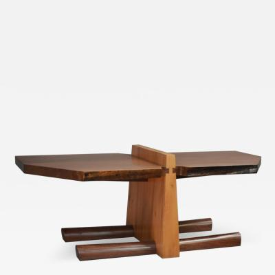 David Ebner Kahn Coffee Table by American Studio Craft Artist David N Ebner