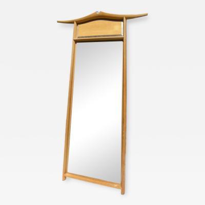 David Ebner Large White Oak Mirror by Studio Craft Artist David N Ebner