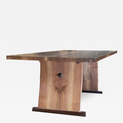 David Ebner Lerner Dining Room Table by American Studio Craft Artist David N Ebner