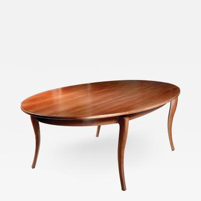 David Ebner Oval Dining Table by David Ebner