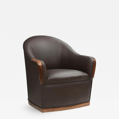 David Ebner Swivel Armchair by David Ebner