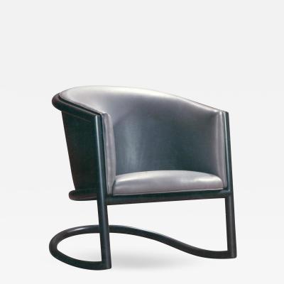 David Ebner Tubular Steel Rocking Chair by David N Ebner