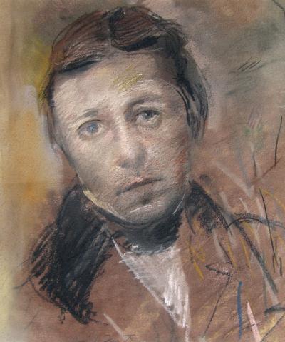David Fertig Portrait of the Painter J A D Ingres