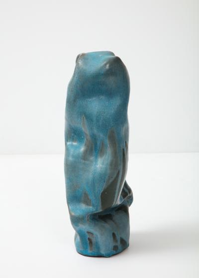 David Haskell Totem Sculpture with Folds 1 by David Haskell