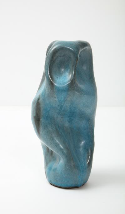David Haskell Totem Sculpture with Folds 2 by David Haskell