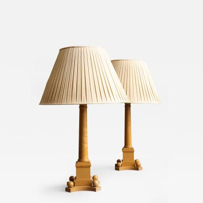 David Hicks Pair of Lamps