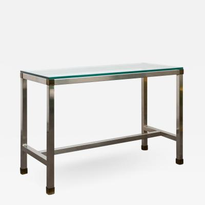 David Hicks Stainless Steel Console By David Hicks