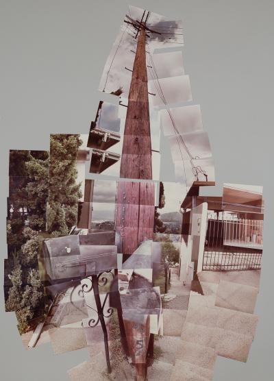 David Hockney Telephone Pole Los Angeles