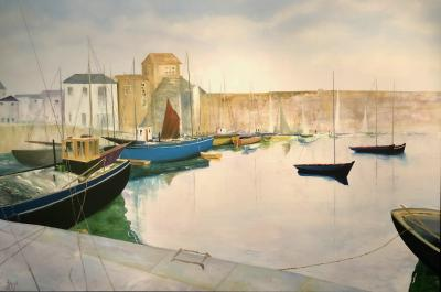 David J Williams Tranquil Harbour