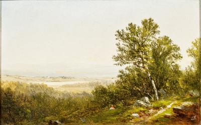 David Johnson Figure in a Landscape