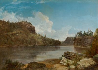 David Johnson Lake Mohonk 1858
