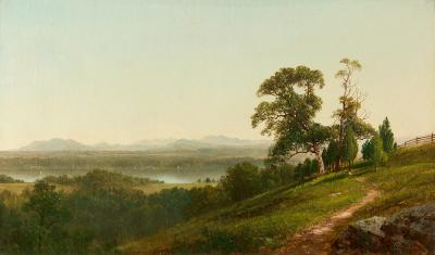 David Johnson View of the Hudson from Barrytown New York