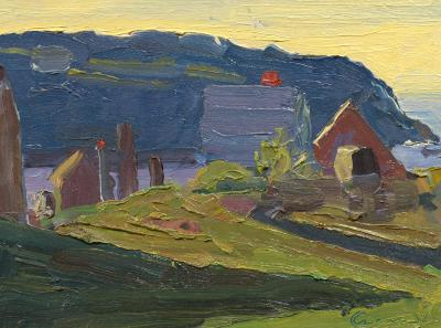 David Kasman Monhegan Shadows