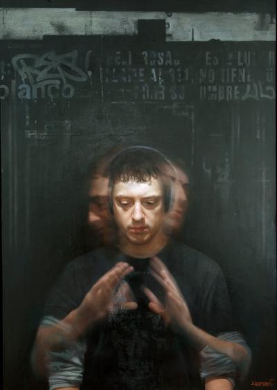 David Kassan Self Portrait in Motion