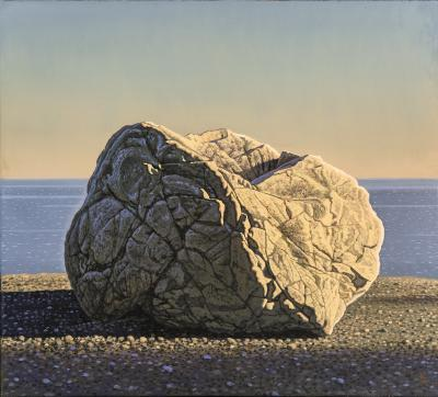 David Ligare Rock and Sea