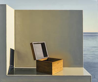 David Ligare Still Life with Box