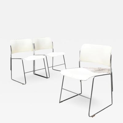 David Rowland Set of 40 4 chairs by David Rowland for GF Furniture 1963