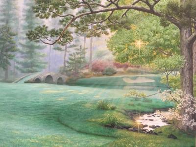 David Ruhe Amen Corner Landscape