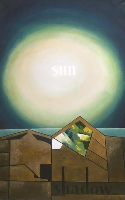 David Segel Sun Shadow Oil Painting by David Segel