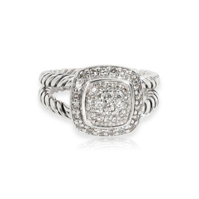 David Yurman David Yurman Albion Diamond Ring in Sterling Silver 0 29 CTW