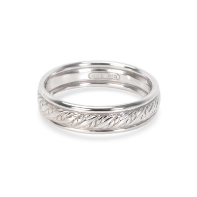 David Yurman David Yurman Mens Rope Band in Sterling Silver 6 mm