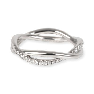 David Yurman Lanai Collection Diamond Wedding Band in Platinum 0 19 CTW