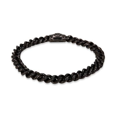 David Yurman Petite Pave Curb Link Men s Bracelet