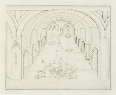 David Zeldis Subterranean Arches