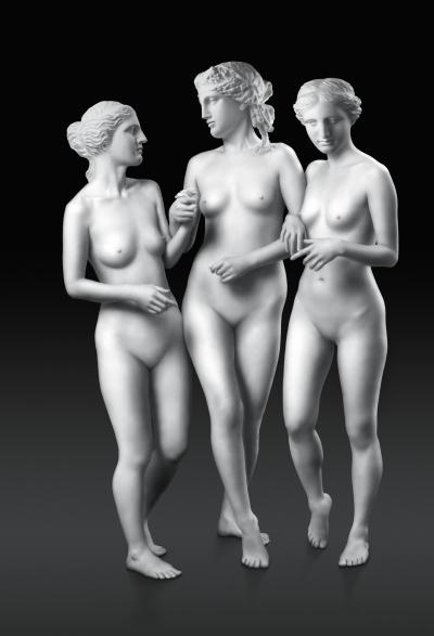Debbie Han Walking Three Graces Edition 1 2