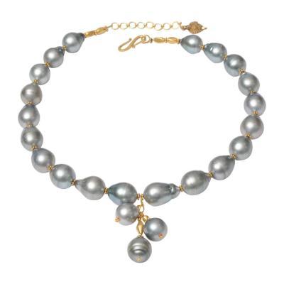 Deborah Lockhart Phillips Tahitian Pearls and 18 Karat Gold Necklace by Deborah Lockhart Phillips