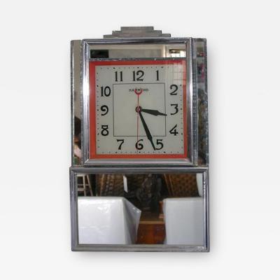 Deco Electric Wall Clock