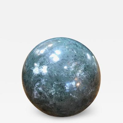 Decorative Green Marble Sphere Italy