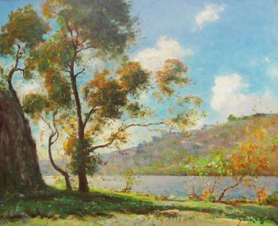 Dedrick Brandes Stuber Morning by the Lake