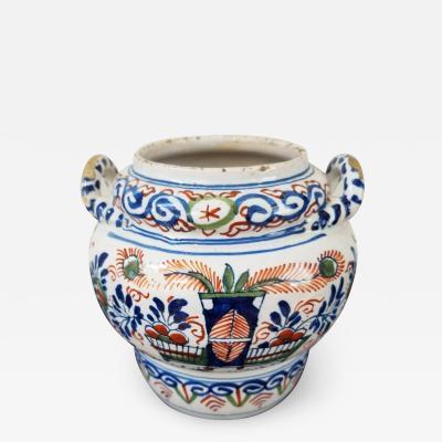 Delft Acorn jar