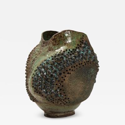 Dena Zemsky Large Ceramic Vessel by Dena Zemsky