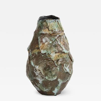 Dena Zemsky Large Sculptural Vase 5 by Dena Zemsky
