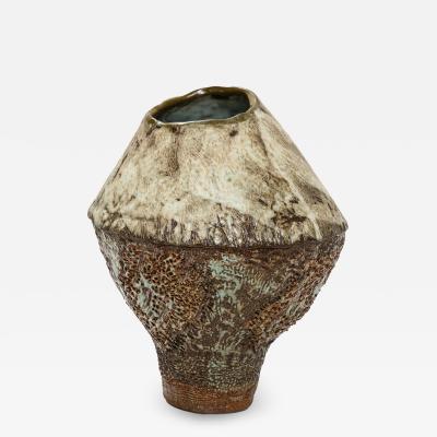 Dena Zemsky Studio Built Vase by Dena Zemsky