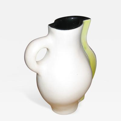 Denise Gatard Rare Ceramic Pitcher by Denise Gatard 1950s