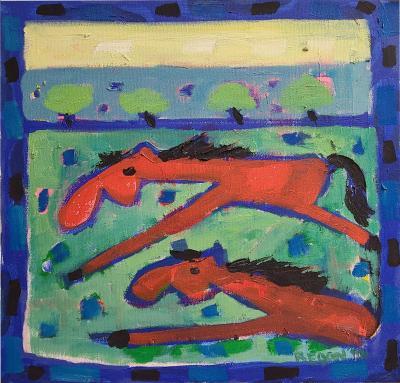 Denise Regan Modernist painting