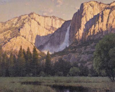 Dennis Doheny Daybreak Yosemite Falls