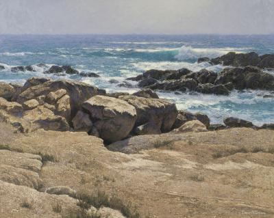 Dennis Doheny Sandstone Forms Point Lobos