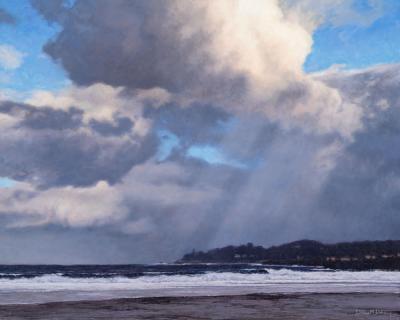 Dennis Doheny Winter Walk Carmel Beach
