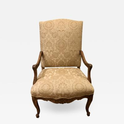 Dennis Leen Dennis Leen Elegant Designer Carved Italian Arm Chair
