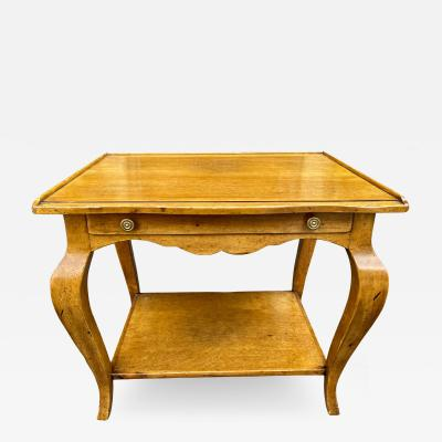 Dennis Leen Dennis Leen French Country Fruitwood Side Table